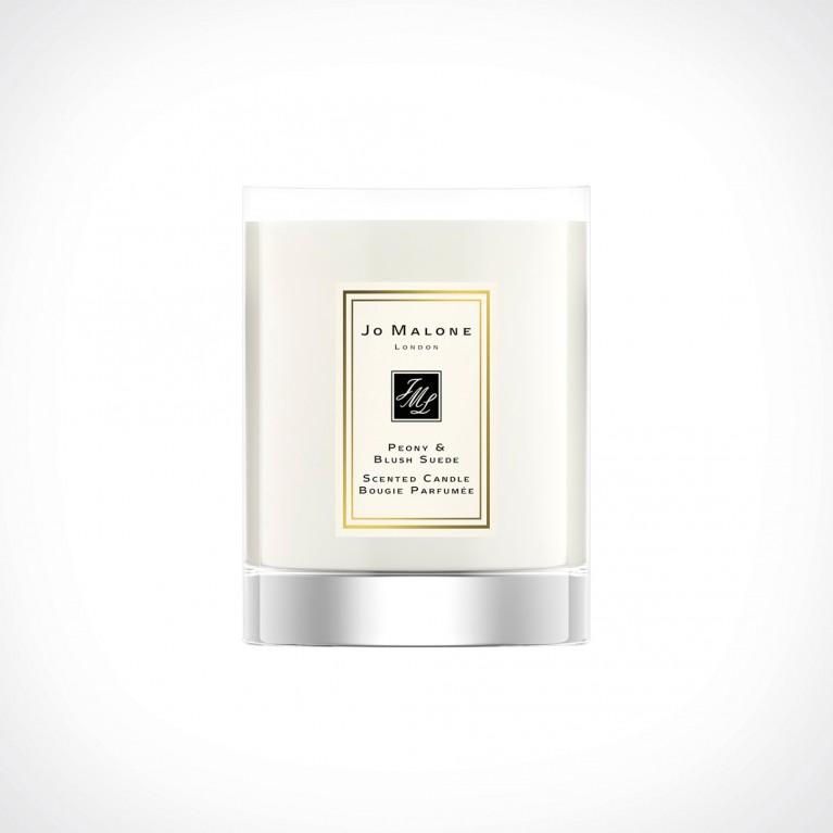 Jo Malone London Peony & Blush Suede Travel Scented Candle | kvapioji žvakė | 60 g | Crème de la Crème