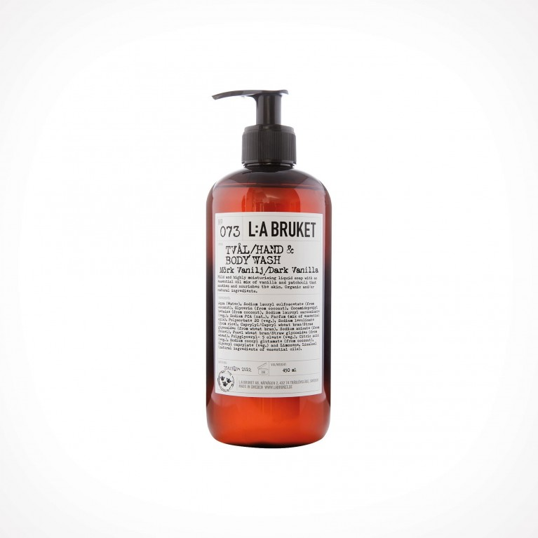 L:a Bruket 073 Dark Vanilla Hand & Body Wash 2 | kūno ir rankų prausiklis | Crème de la Crème
