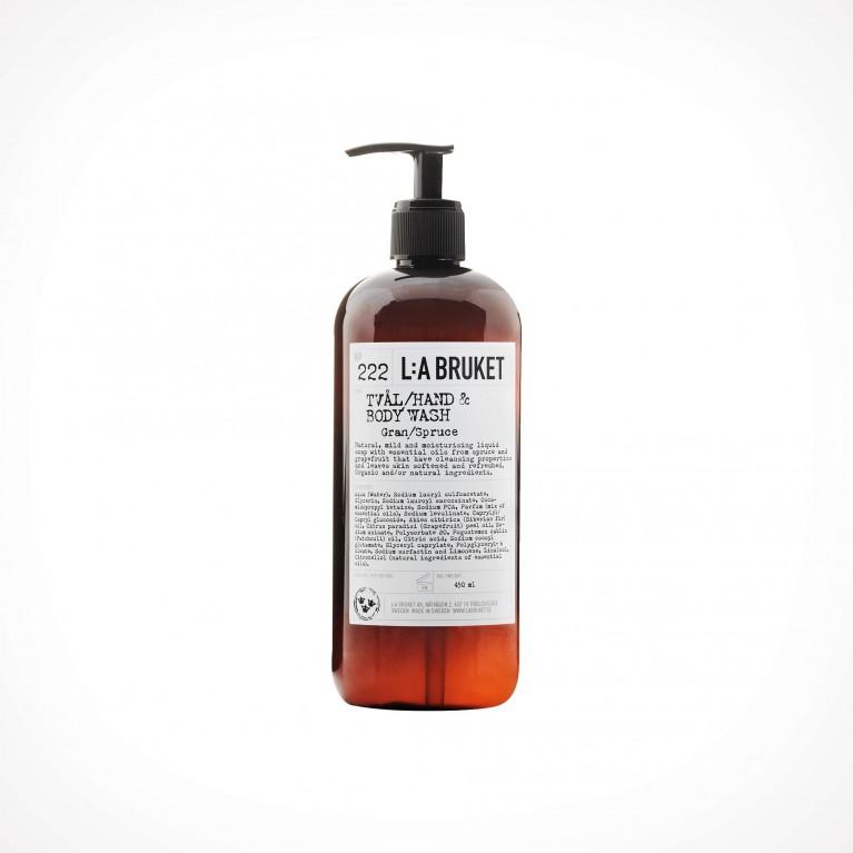 L:a Bruket 222 Spruce Hand & Body Wash 2 | kūno ir rankų prausiklis | Crème de la Crème
