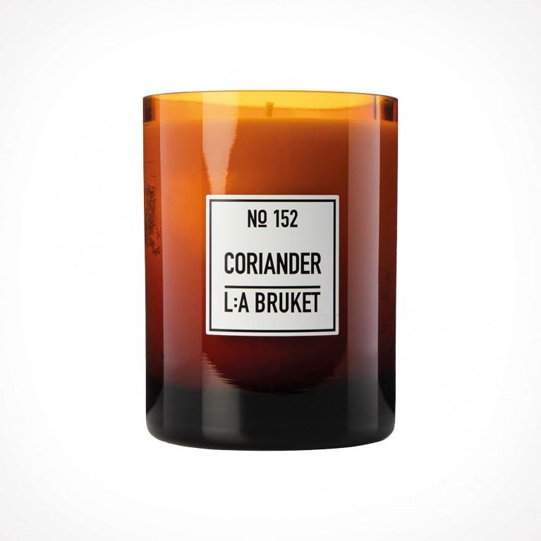 L:a Bruket 152 Coriander Scented Candle 2   kvapioji žvakė   Crème de la Crème