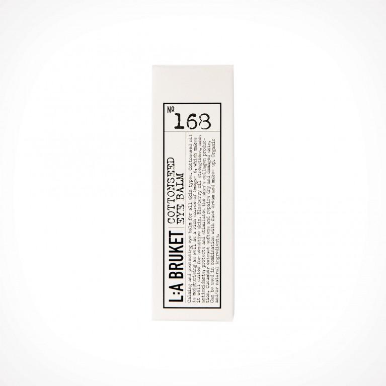 L:a Bruket 168 Cottonseed Eye Balm 2 | 15 ml | Crème de la Crème