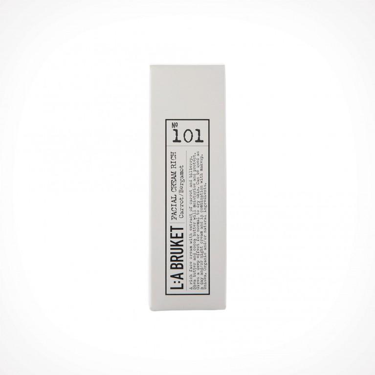L:a Bruket 101 Carrot/Bergamot Facial Cream Rich 2 | 50 ml | Crème de la Crème
