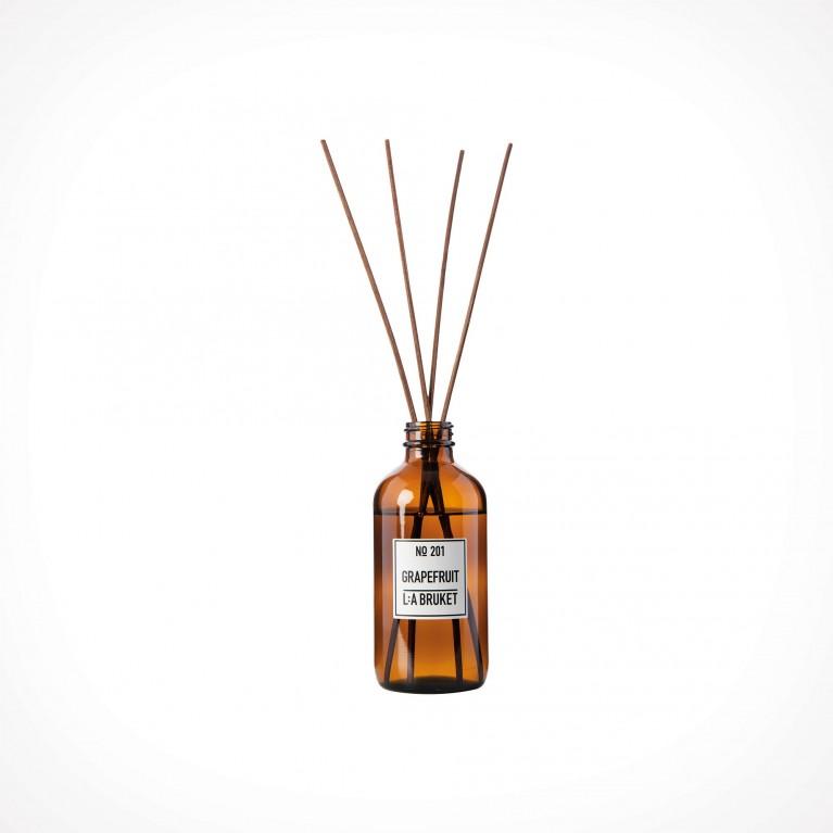 L:a Bruket 201 Grapefruit Room Diffuser 2 | patalpų kvapiklis | 200 ml | Crème de la Crème