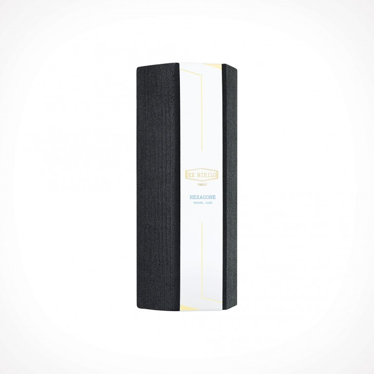 EX NIHILO PARIS Hexagone Black Edition Travel Case 2   aksesuarai   for 7,5 ml perfume vials   Crème de la Crème