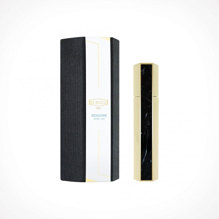 EX NIHILO PARIS Hexagone Black Edition Travel Case 3   aksesuarai   for 7,5 ml perfume vials   Crème de la Crème