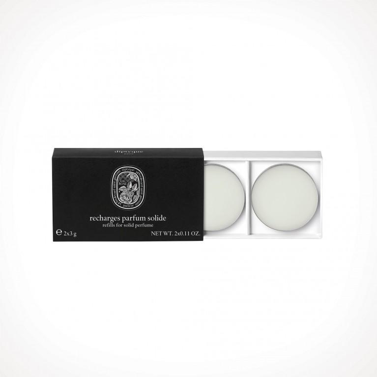 diptyque Eau Rose Solid Perfume Refill 2 | kietieji kvepalai | 2 x 3 g | Crème de la Crème