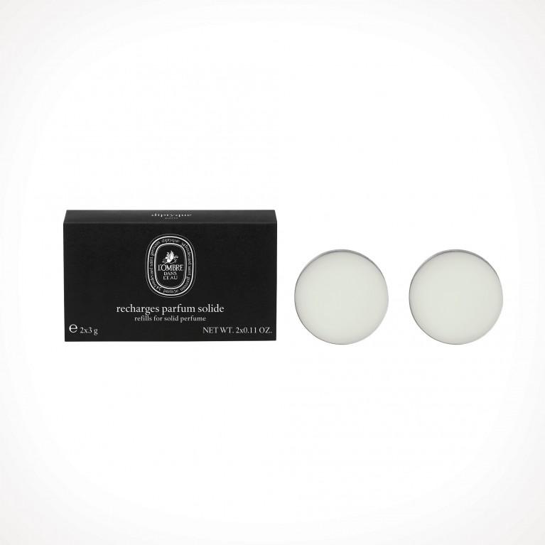 diptyque L'Ombre Dans L'Eau Solid Perfume Refill 1   kietieji kvepalai   2 x 3 g   Crème de la Crème