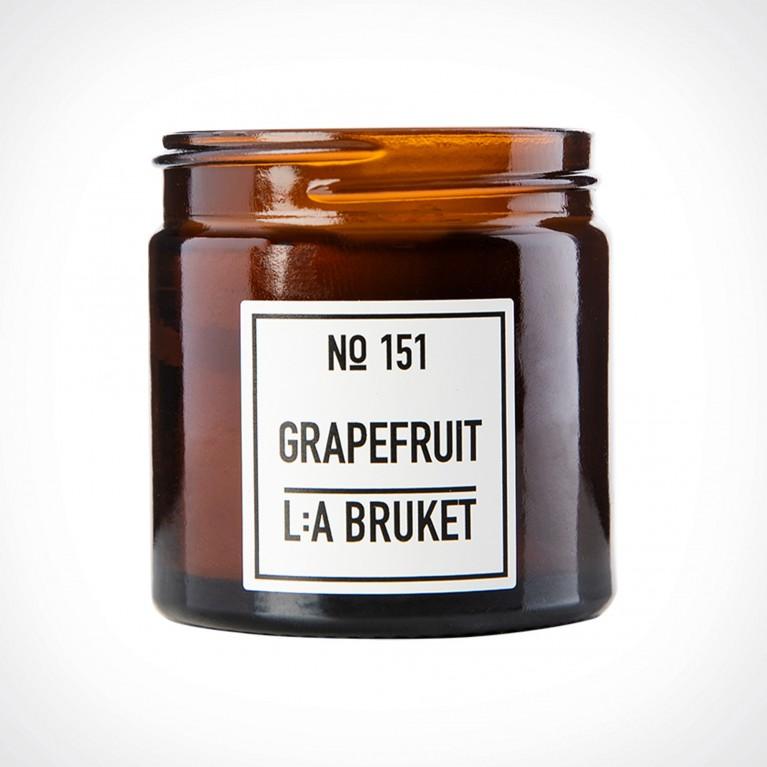 L:a Bruket 151 Grapefruit Scented Candle 1 | Crème de la Crème