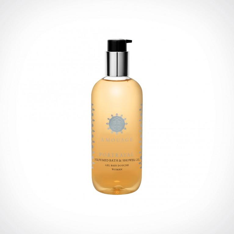Amouage Portrayal Woman Bath And Shower Gel   kūno prausiklis   300 ml   Crème de la Crème