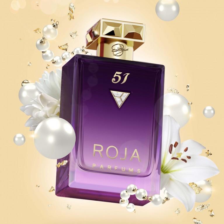 Roja Parfums 51 Pour Femme Essence De Parfum 3 | kvapusis vanduo (EDP) | 100 ml | Crème de la Crème