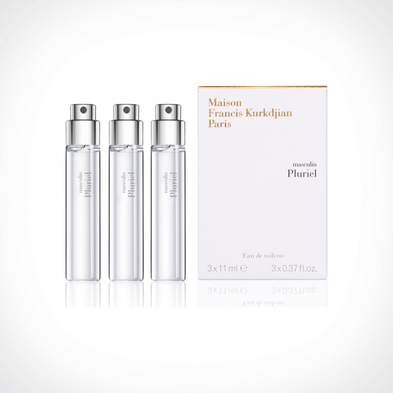 Maison Francis Kurkdjian Masculin Pluriel Refills | kelioninis rinkinys | 3 x 11 ml | Crème de la Crème