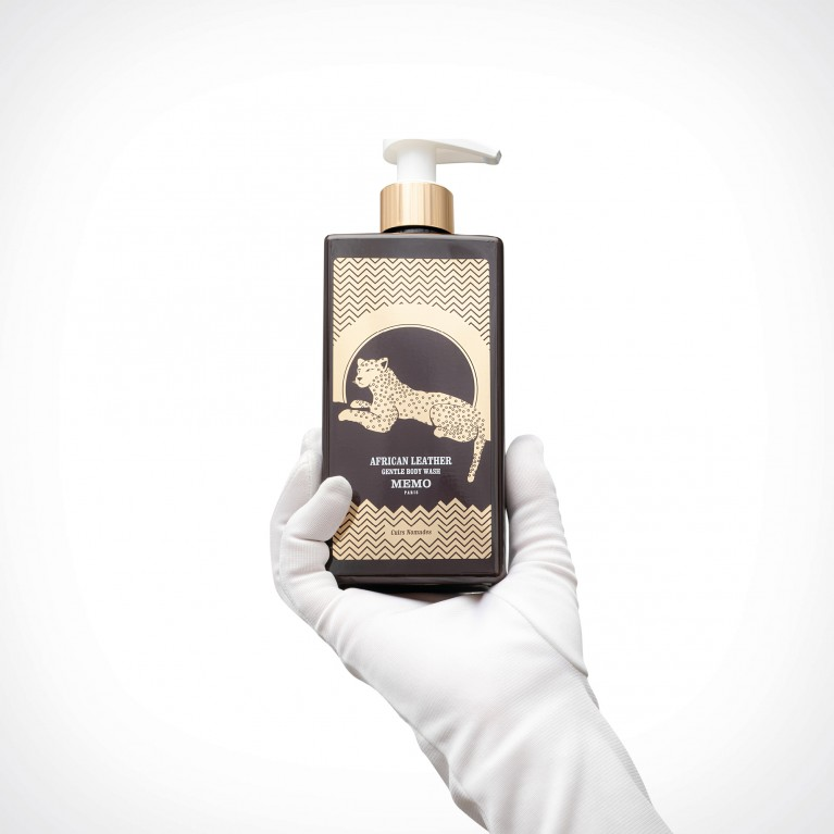 Memo Paris African Leather Body Wash | kūno prausiklis | 250 ml | Crème de la Crème
