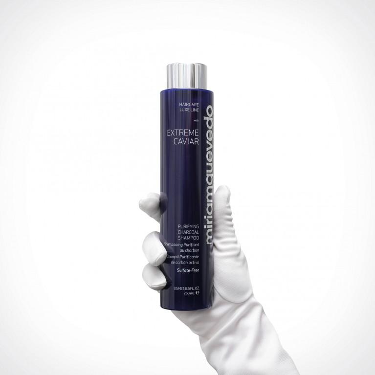 Miriam Quevedo Purifying Charcoal Shampoo | plaukų šampūnas | 250 ml | Crème de la Crème