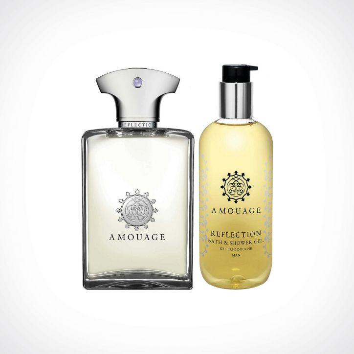Amouage Reflection Man EDP + Shower Gel | dovanų rinkinys | 100 ml + 300 ml | Crème de la Crème