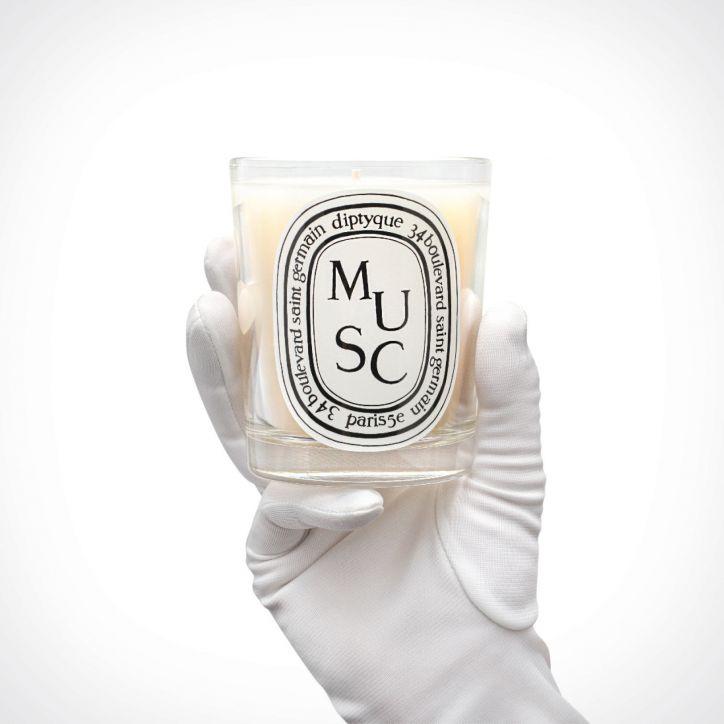 diptyque Musc Scented Candle 2 | kvapioji žvakė | 190 g | Crème de la Crème