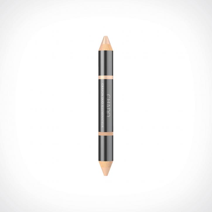 CHADO Crayon Duo Illuminateur 1 | Naturel 384 | Crème de la Crème