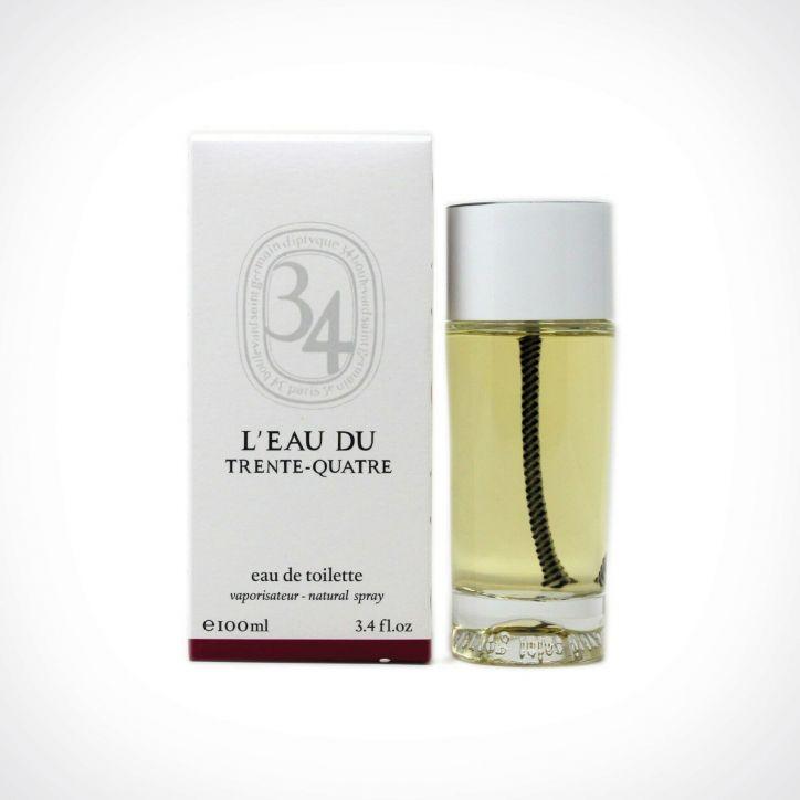 diptyque L'Eau Du Trente-Quatre EDT 2 | tualetinis vanduo (EDT) | 100 ml | Crème de la Crème