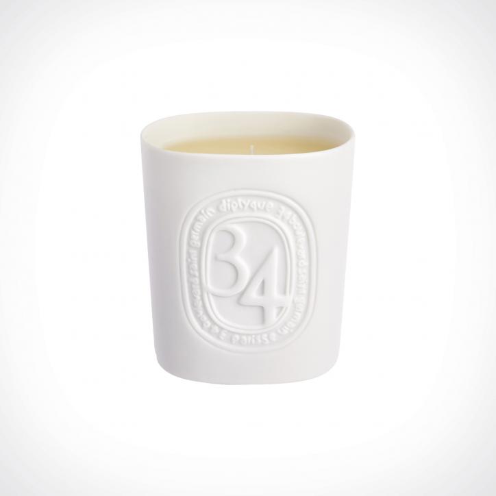 diptyque 34 Boulevard Saint Germain Scented Candle | 220 g | Crème de la Crème