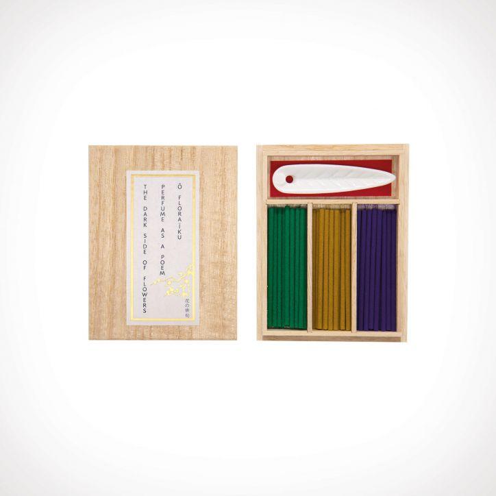 Floraïku Incense Set 1 | namų kvapai | 60 sticks | Crème de la Crème