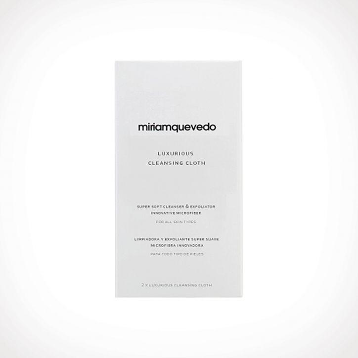 Miriam Quevedo Luxurious Cleansing Cloth 1 | veido prausiklis | 2 vnt | Crème de la Crème