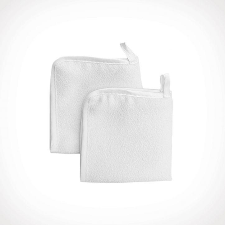 Miriam Quevedo Luxurious Cleansing Cloth 2 | veido prausiklis | 2 vnt | Crème de la Crème