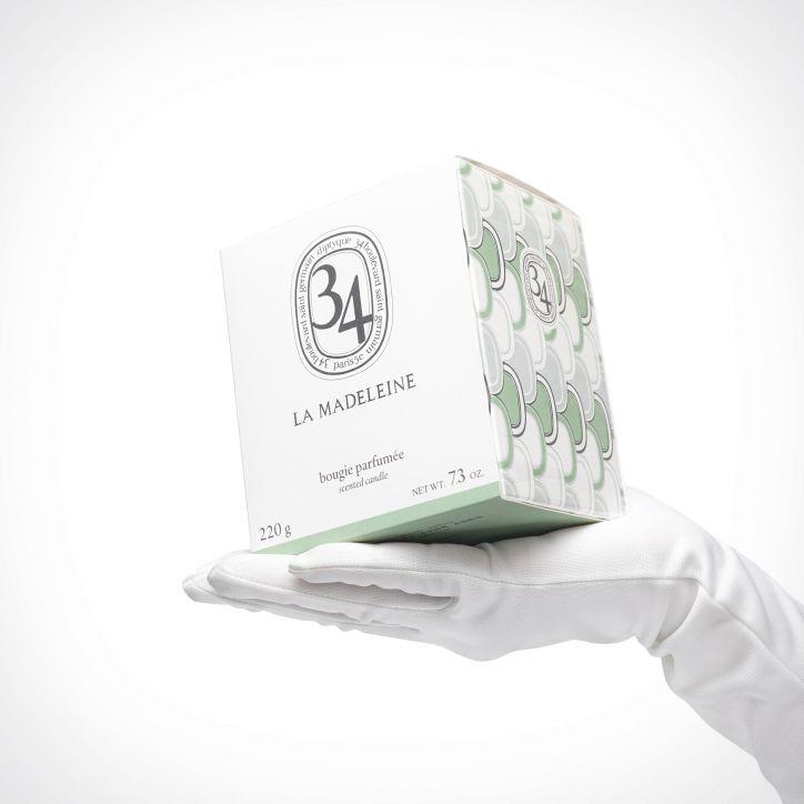 diptyque La Madeleine Scented Candle 2 | kvapioji žvakė | 220 g | Crème de la Crème