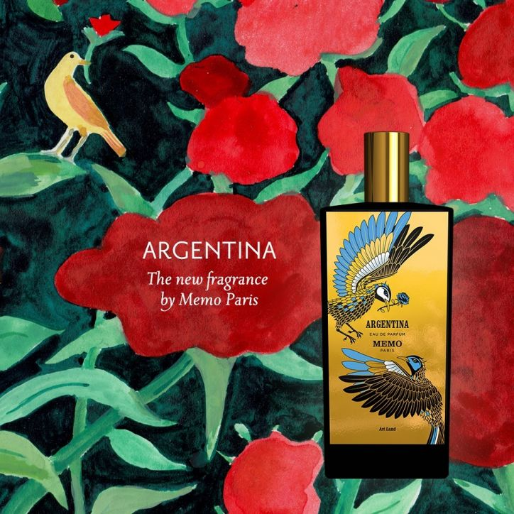 Memo Paris Argentina 3 | kvapusis vanduo (EDP) | 75 ml | Crème de la Crème