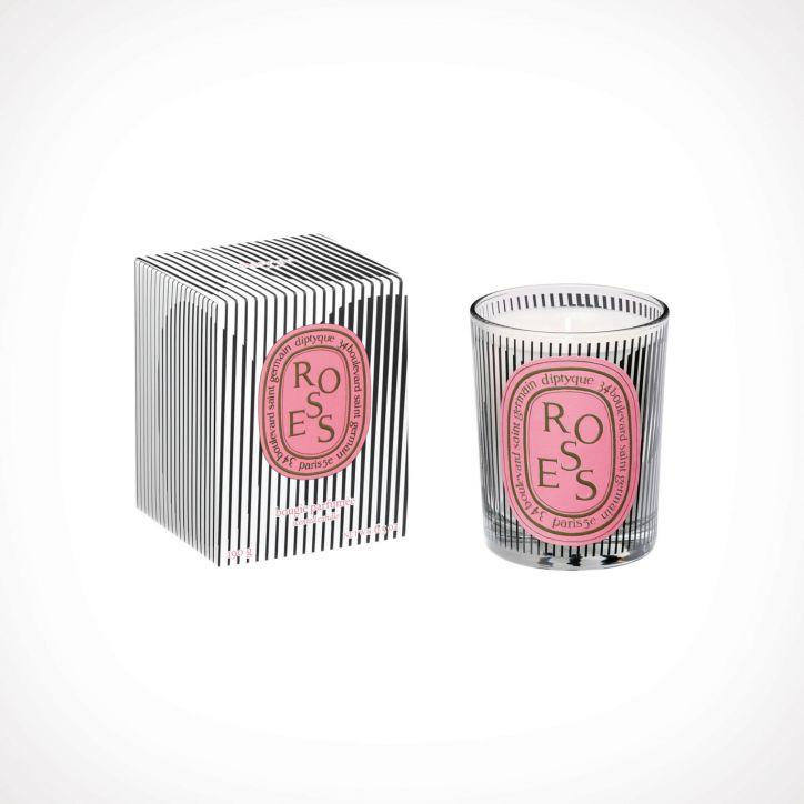 diptyque Roses Scented Candle Limited Edition 2   190 g   Crème de la Crème