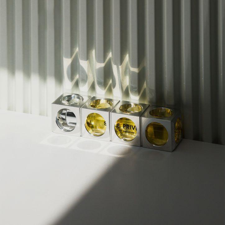 SALLE PRIVÉE Code Perfume Holder 2   kelioninis rinkinys   2 x 12 ml   Crème de la Crème