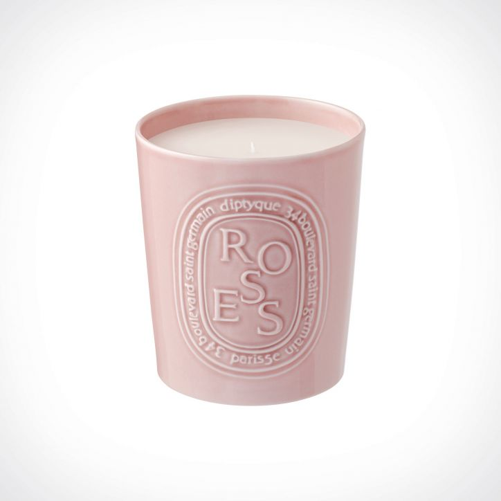 diptyque Roses Scented Candle 1 | kvapioji žvakė | 600 g | Crème de la Crème