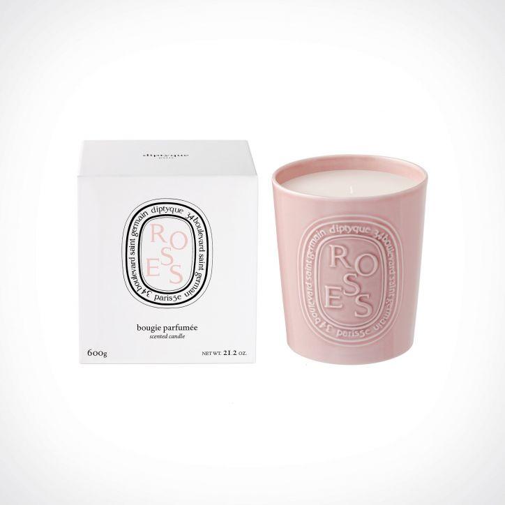 diptyque Roses Scented Candle 2 | kvapioji žvakė | 600 g | Crème de la Crème