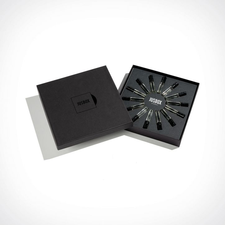 Jusbox Perfumes Discovery Set | dovanų rinkinys | 14 x 1,5 ml | Crème de la Crème