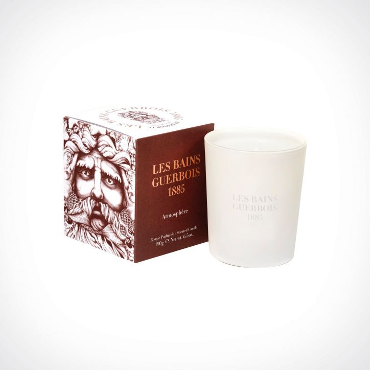 Les Bains Guerbois Atmosphère Scented Candle 2 | kvapioji žvakė | 190 g | Crème de la Crème