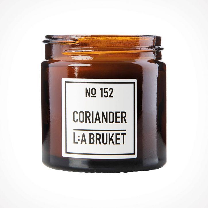 L:a Bruket 152 Coriander Scented Candle 1   kvapioji žvakė   Crème de la Crème