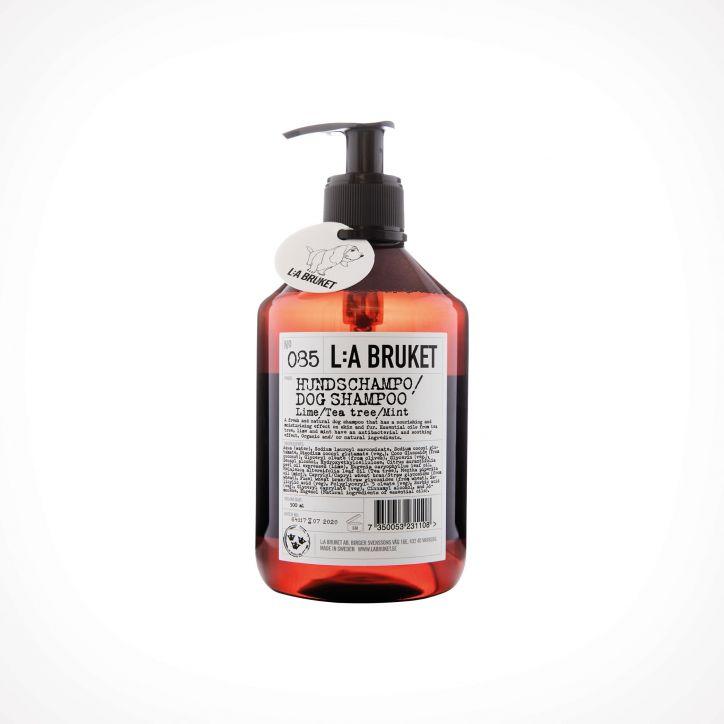 L:a Bruket 085 Lime/Tea Tree/Mint Dog shampoo | šampūnas šunims | 500 ml | Crème de la Crème