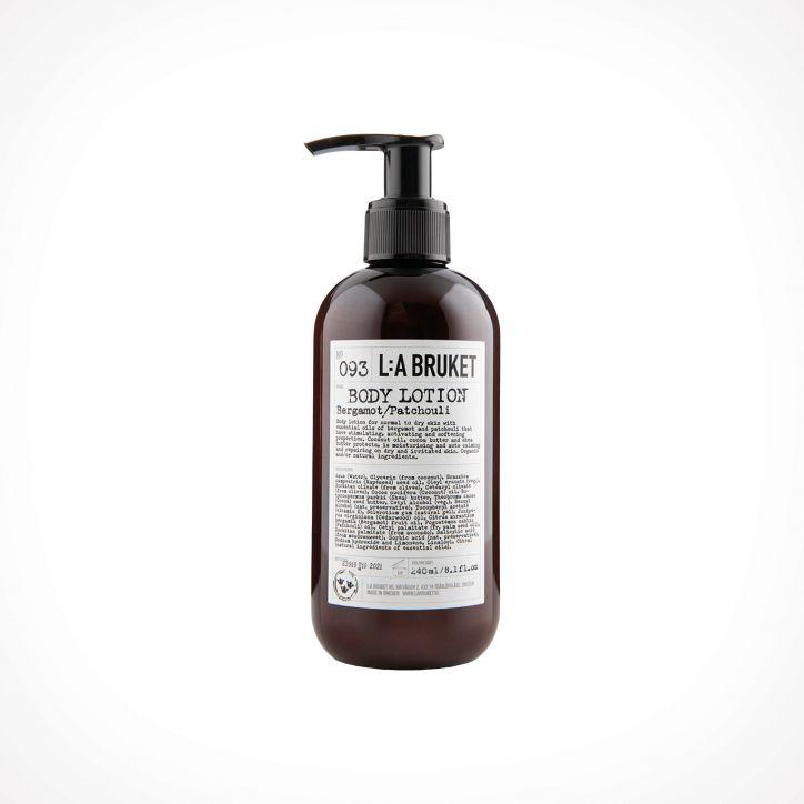 L:a Bruket 093 Bergamot/Patchouli Body Lotion | kūno losjonas | 250 ml | Crème de la Crème