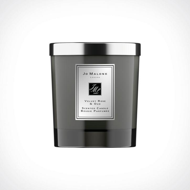 Jo Malone London Velvet Rose & Oud Home Candle Intense   kvapioji žvakė   200 g   Crème de la Crème