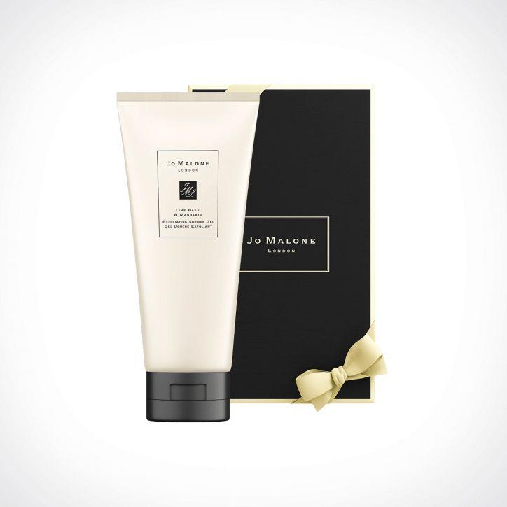 Jo Malone London Lime Basil & Mandarin Exfoliating Shower Gel 2   kūno prausiklis   200 ml   Crème de la Crème
