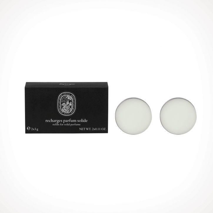 diptyque Eau Rose Solid Perfume Refill 1 | kietieji kvepalai | 2 x 3 g | Crème de la Crème
