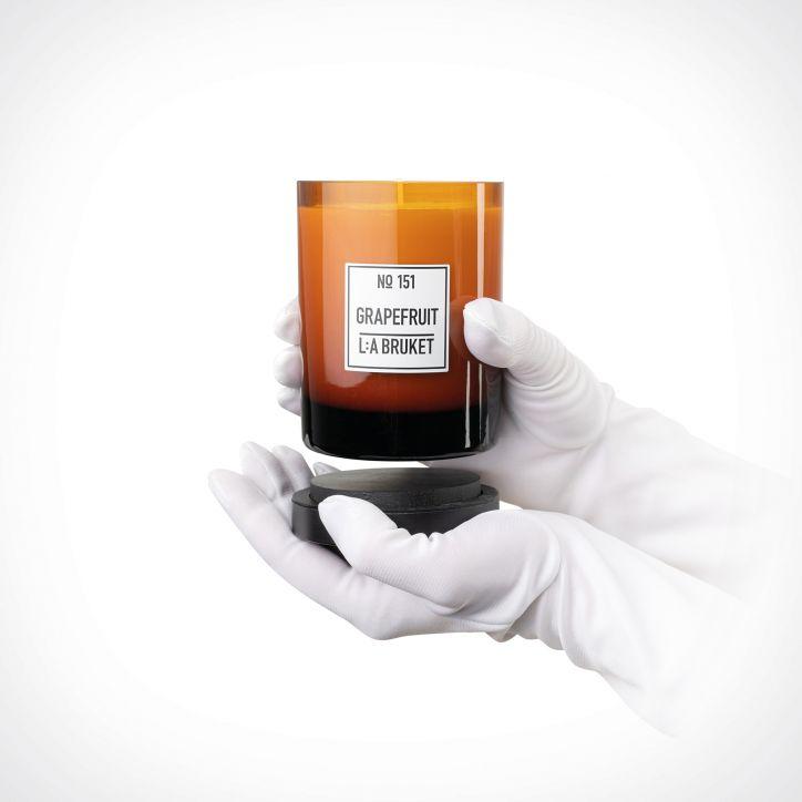 L:a Bruket Grapefruit Candle | kvapioji žvakė | 260 g | Crème de la Crème