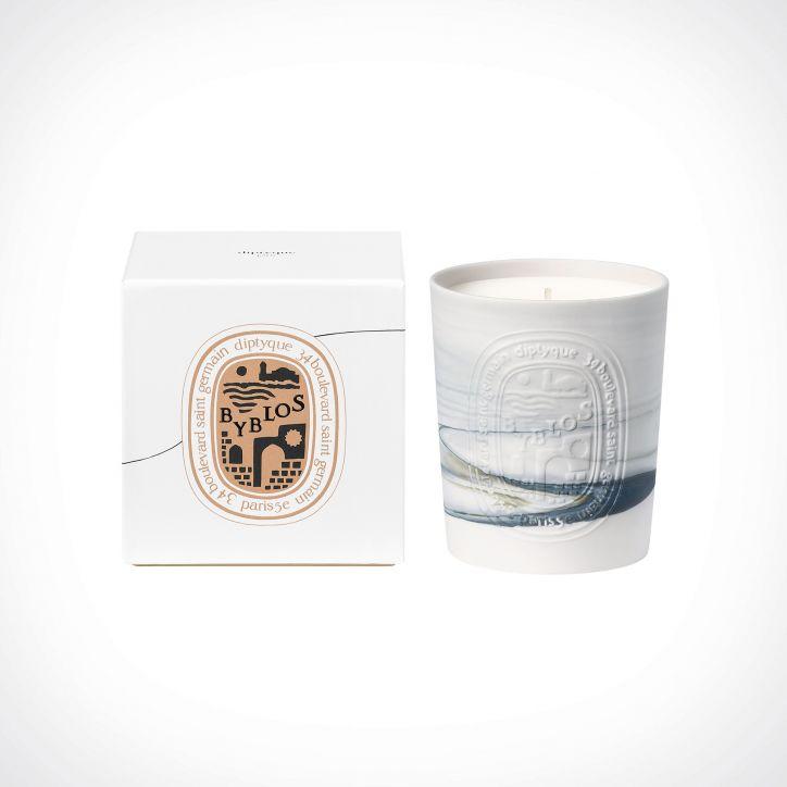 diptyque Byblos Scented Candle 2   300 g   Crème de la Crème