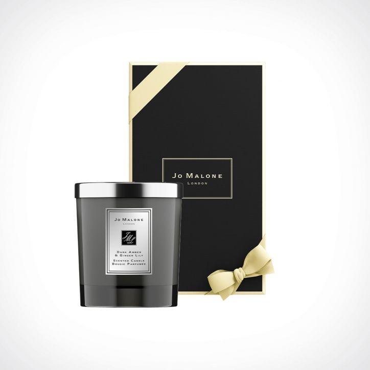 Jo Malone London Dark Amber & Ginger Lily Home Scented Candle Intense 2   kvapioji žvakė   200 g   Crème de la Crème