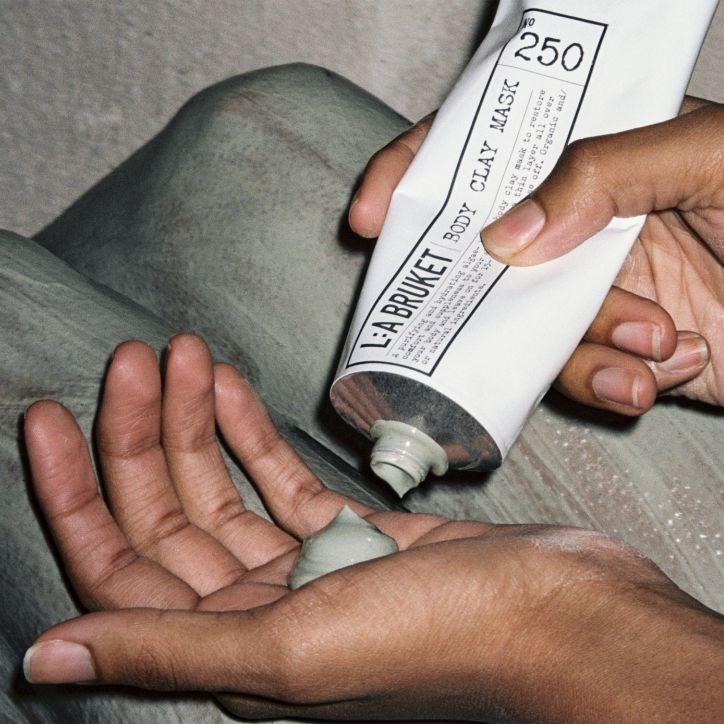 L:a Bruket 250 Body Clay Mask 4   230 g   Crème de la Crème
