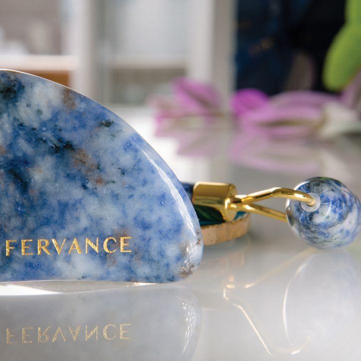 La Fervance Gua Sha & Roller Facial Contour And Sculpting Kit 3   Veido masažuoklis   set   Crème de la Crème