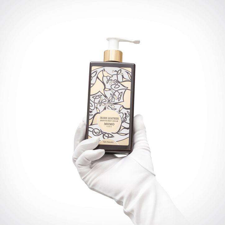Memo Paris Irish Leather Body Cream   250 ml   Crème de la Crème